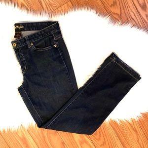 Ann Taylor Modern Fit Lindsay dark waist jean
